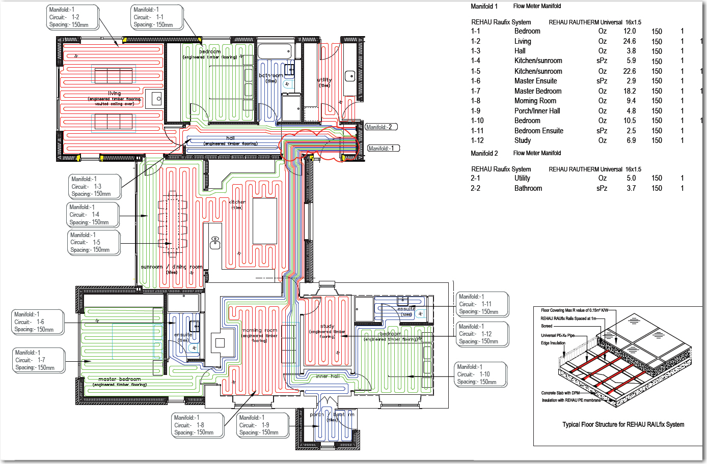 Architect house floor plans wood floors for Hardwood floor plans