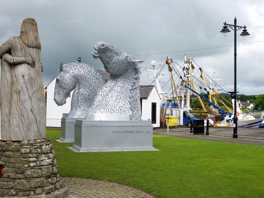 Kelpies in Kirkcudbright