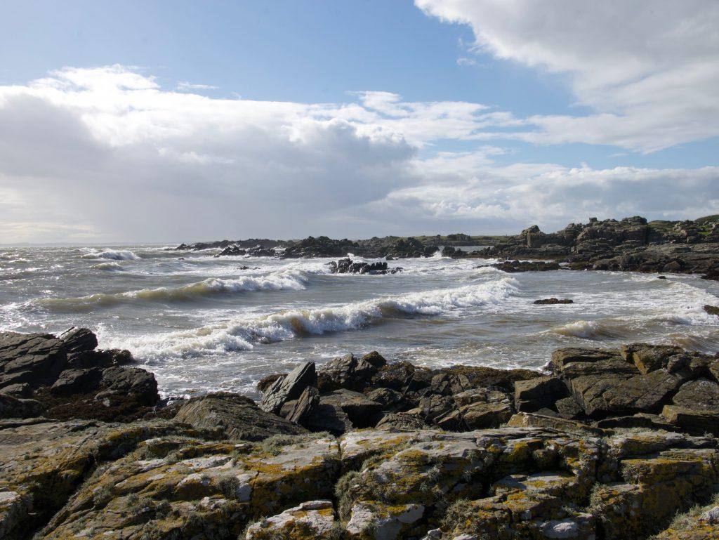Waves at Dead Man's Bay