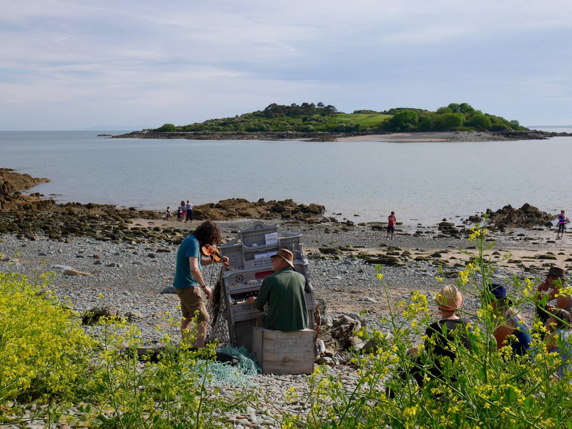 Harmonium and Ardwall Island